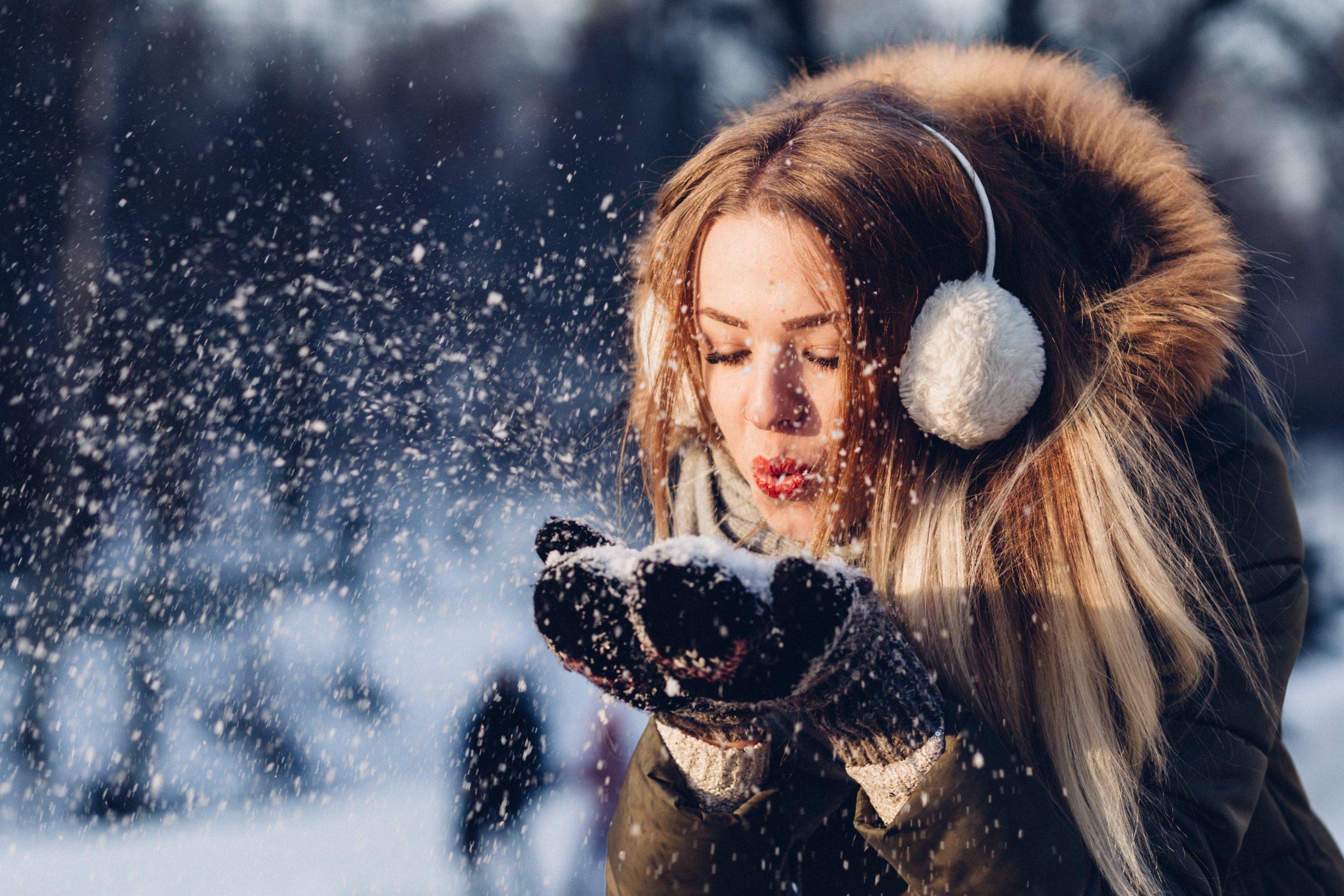 modne inspiracje - uroda zimą